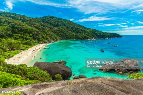 tachai island, phang nga, thailand - phuket province stock pictures, royalty-free photos & images