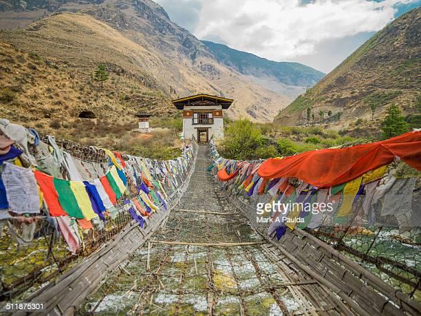 Tachog Lhakhang Iron Chain Bridge