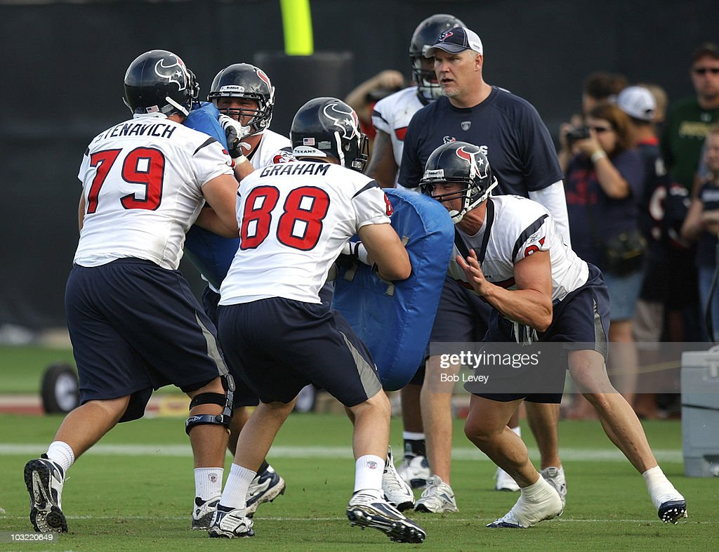 Houston Texans Training Camp : News Photo