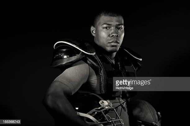 tackle football player - padding stock pictures, royalty-free photos & images