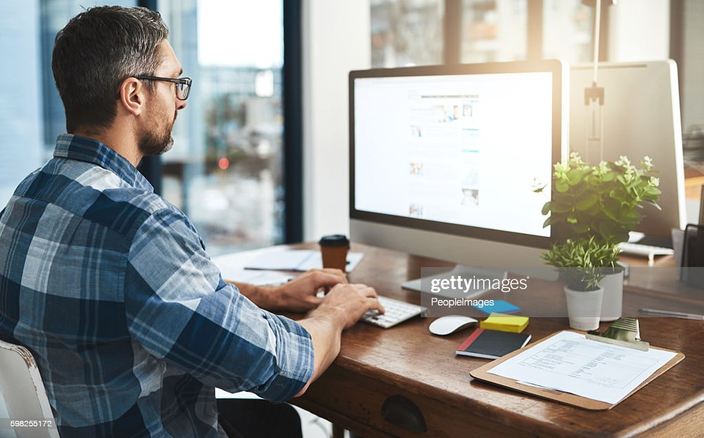 Tackling another task : Stock Photo