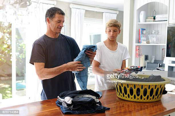 Tackling household chores together
