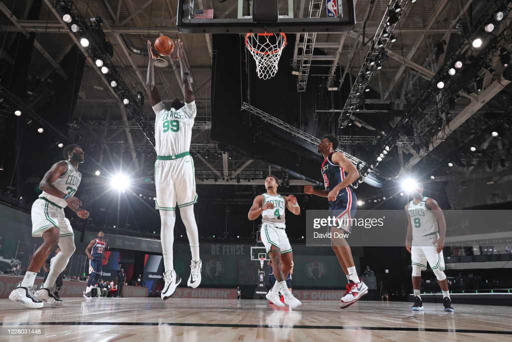 Washington Wizards v Boston Celtics : News Photo