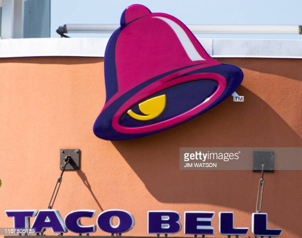 Taco Bell chain restaurant in Middletown DE on July 26 2019