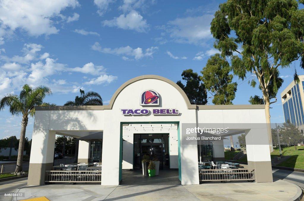 Taco Bell Menu Items, Headquarters And Restaurant Shoot : News Photo