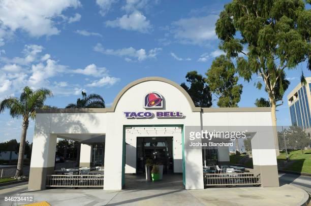 Taco Bell restaurant in Orange County California