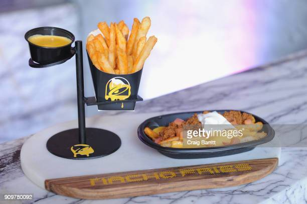 Taco Bell's Nacho Fries will be available for a limited time a la carte for $1 and served Supreme for $249 or Bell Grande for $349 topped with...