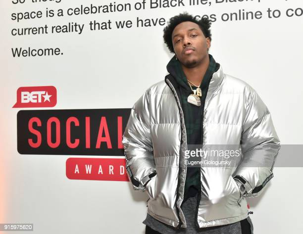 Taco Charlton attends the BET NETWORKS Hosting of the Opening Night Reception For 'THE MUSEUM OF MEME' In Celebration Of 'THE BET SOCIAL AWARDS' at...
