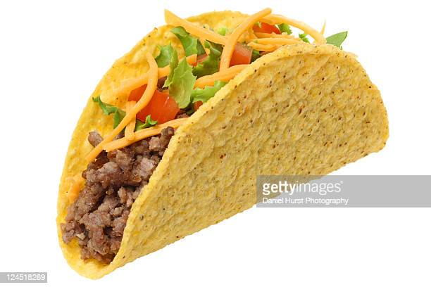 Taco on white