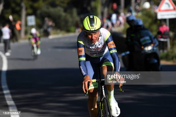 Taco Van Der Hoorn of Netherlands and Team Intermarché - Wanty - Gobert Matériaux during the 112th Milano-Sanremo 2021 a 299km race from Milano to...