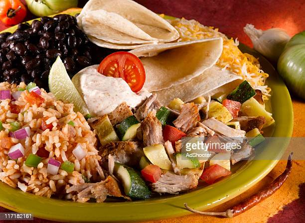 tacos - mexican picnic stock pictures, royalty-free photos & images