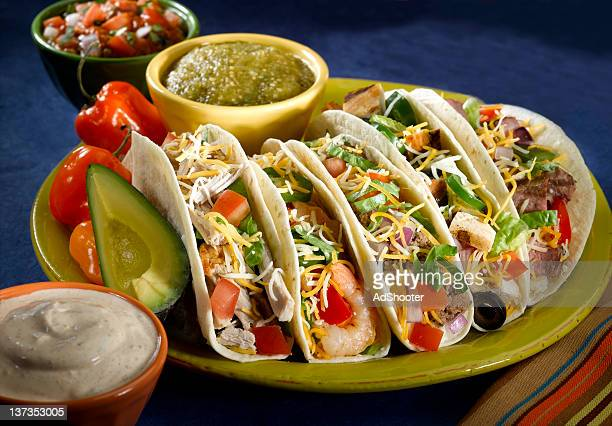 tacos - course meal stock pictures, royalty-free photos & images
