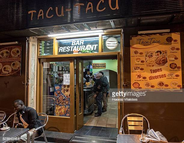 TacuTacu tapas restaurant and bar in Career de Sant Miquel in the old quarter of Manresa Spain 15 October 2014 Manresa's origins appear to be in the...