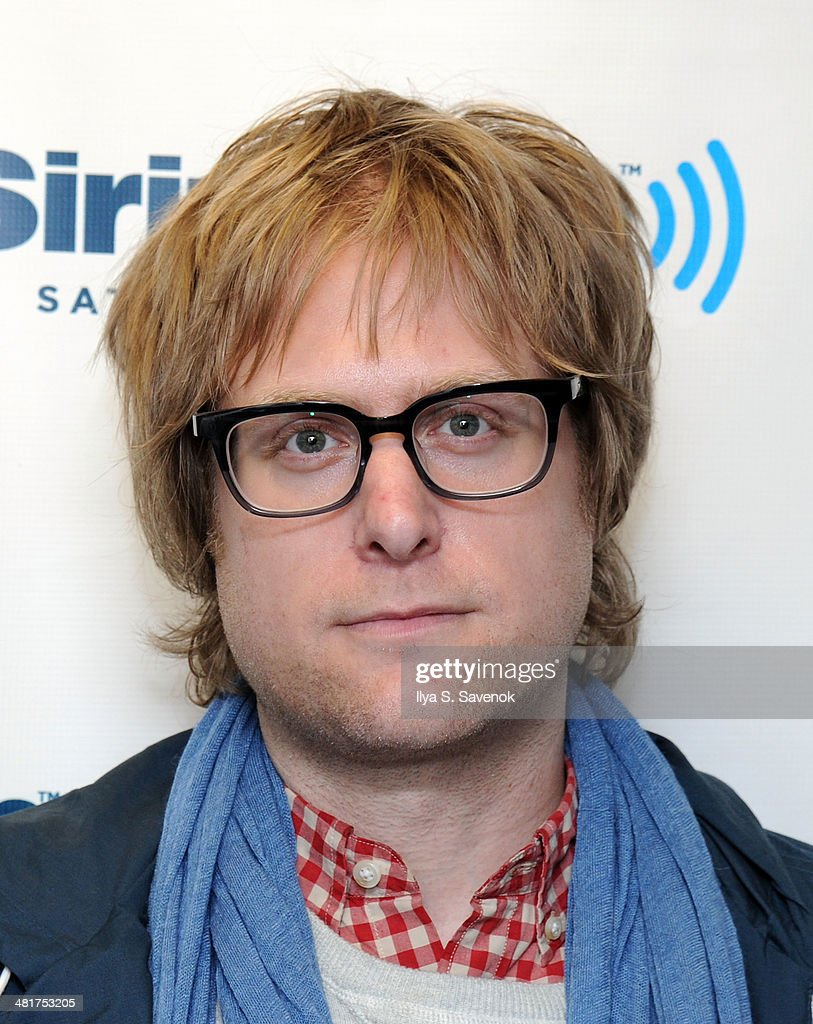 Tad Kubler of The Hold Steady visits the SiriusXM Studios on March 31, 2014 in New York City.