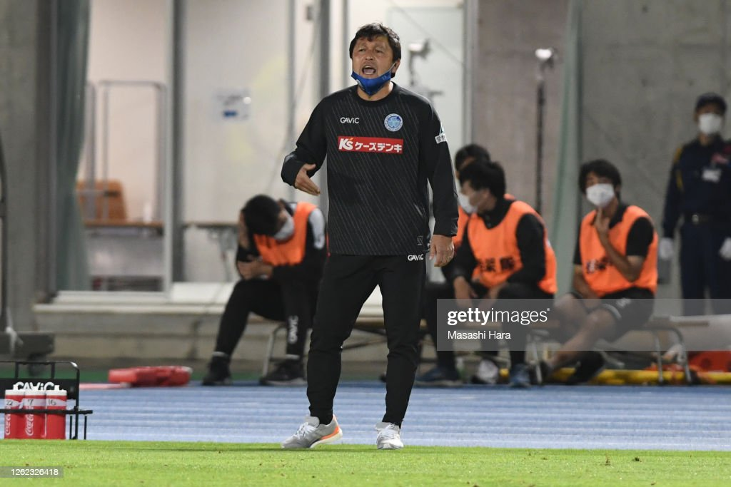 Mito HollyHock v Ventforet Kofu - J.League Meiji Yasuda J2 : ニュース写真