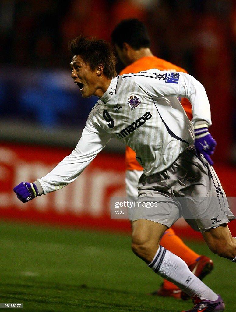 AFC Champions League - Shandong Luneng v Sanfrecce Hiroshima