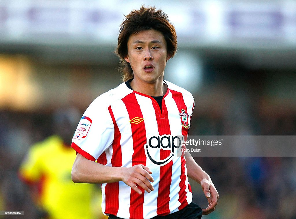 Tadanari Lee of Southampton during the npower Championship match between Watford and Southampton at Vicarage Road on February 25, 2012 in Watford, England.