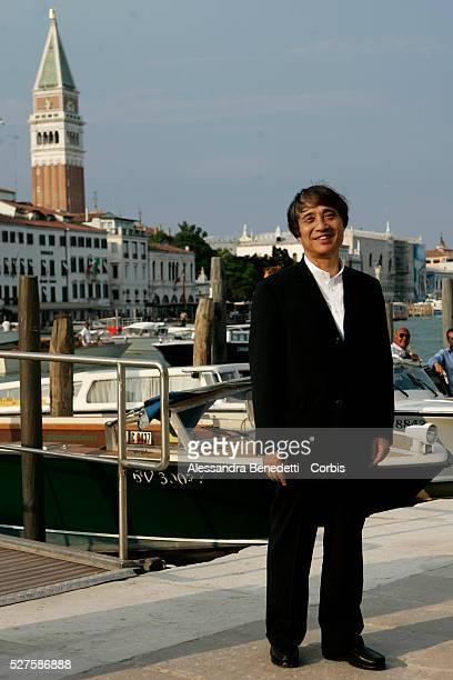 Tadao Ando attends Francois Pinault's Kocktail Party at Punta della Dogana in Venice