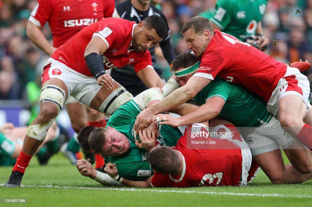 Ireland v Wales - Guinness Six Nations : News Photo