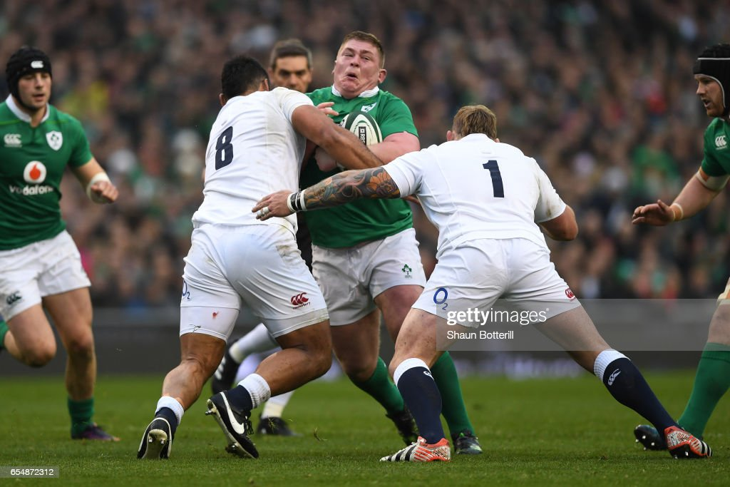 Ireland v England - RBS Six Nations : Nachrichtenfoto