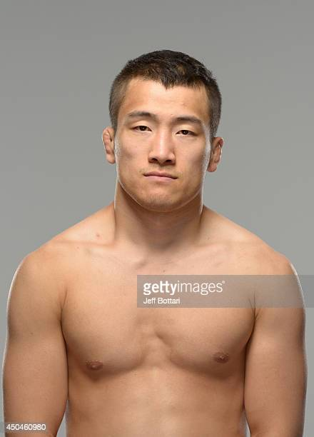 Tae Hyun Bang poses for a portrait during a UFC photo session on June 11 2014 in Vancouver British Columbia Canada