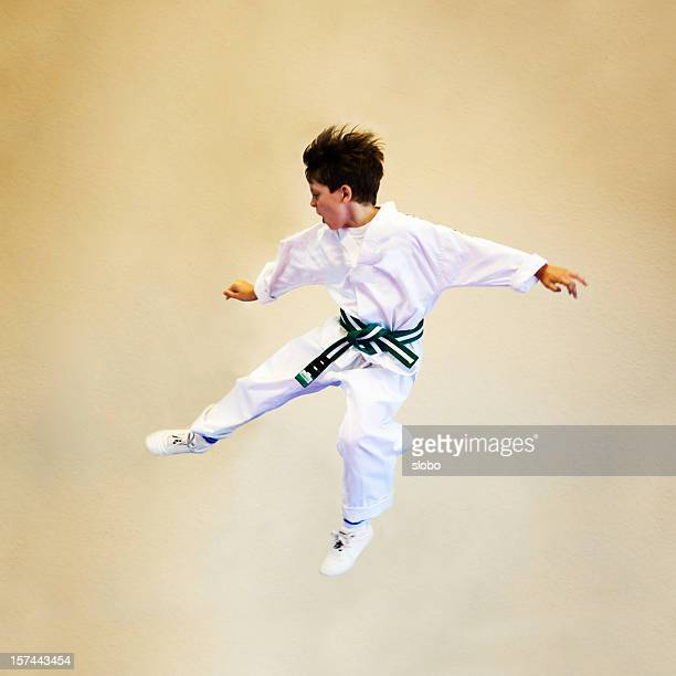 Tae Kwon Do Young Boy