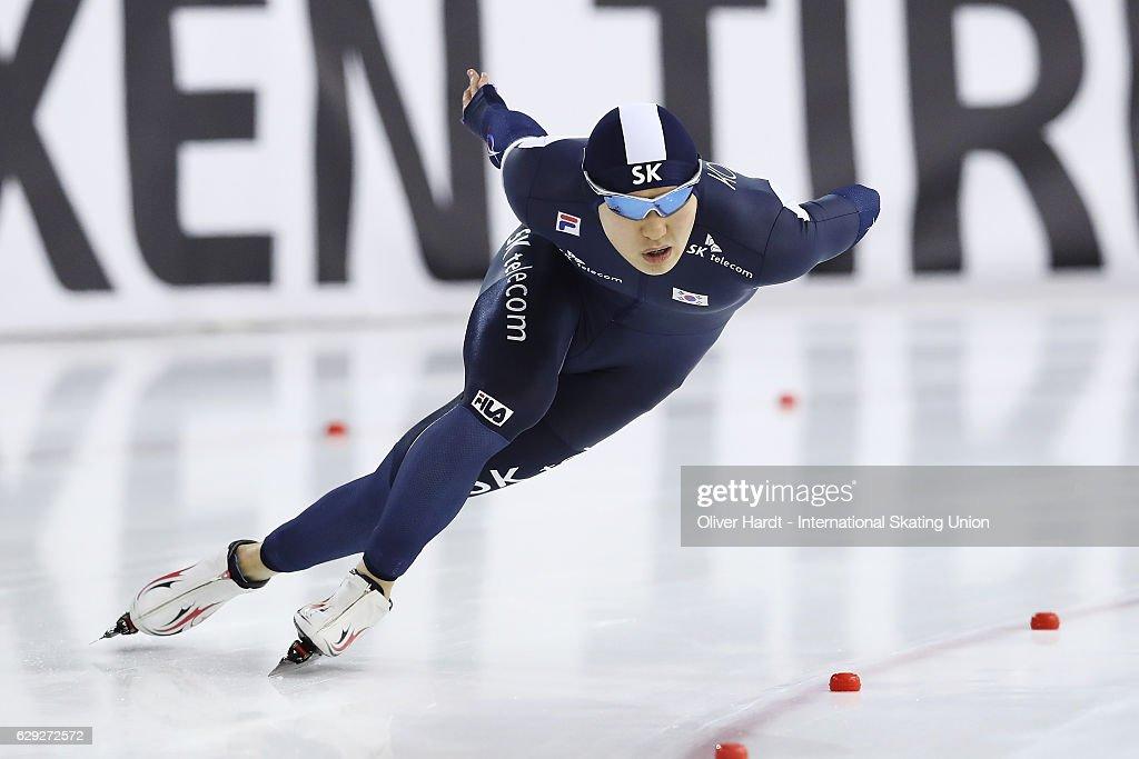 ISU World Cup Speed Skating - Heerenveen Day 3 : Nachrichtenfoto