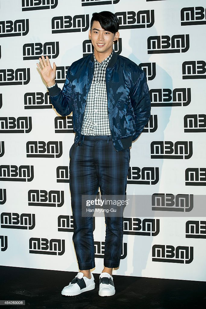 Taecyeon of South Korean boy band 2PM attends the after party for Marc By Marc Jacobs - Fall 2014 Fashion Preview on August 27, 2014 in Seoul, South Korea