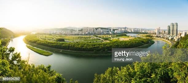 Taehwagang Grand Park in Summer