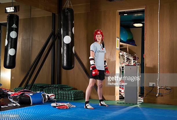 Taekwondo athlete Jade Jones is photographed for the Observer on June 13 2013 in London England