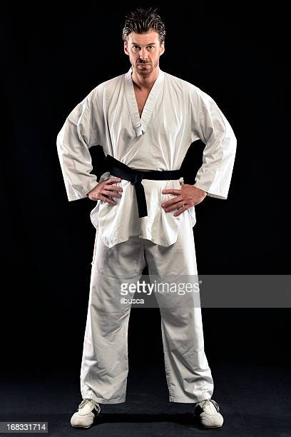 Taekwondo Posture du guerrier