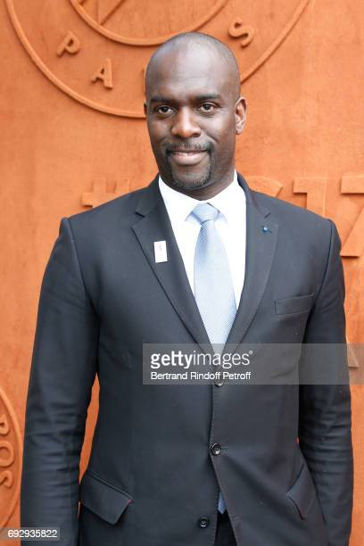 Taekwondo Pascal Gentil attends the 2017 French Tennis Open Day Ten at Roland Garros on June 6 2017 in Paris France