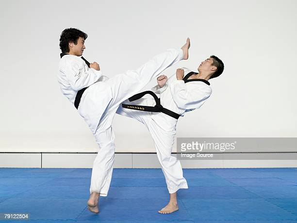 taekwondo - martial arts stock pictures, royalty-free photos & images