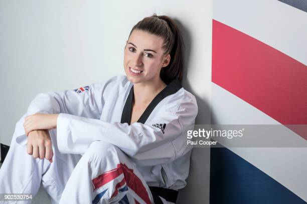 Taekwondo practitioner Bianca Walkden is photographed for the Times on September 6 2017 in London England