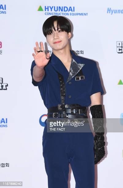 Taemin attends the 25th 2019 Dream Concert at Seoul World Cup Stadium on May 18 2019 in Seoul South Korea