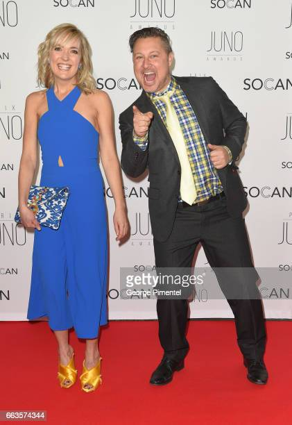 Taes Adams and Nick Adams of Splash'N Boots attend the 2017 Juno Gala Dinner and Awards at Shaw Centre on April 1 2017 in Ottawa Canada