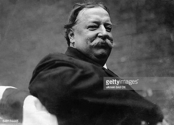 Taft William Howard *15091857 Politican Republican Party USA 27th President of the USA 19091913 portrait 1918 Photographer Philipp Kester Vintage...