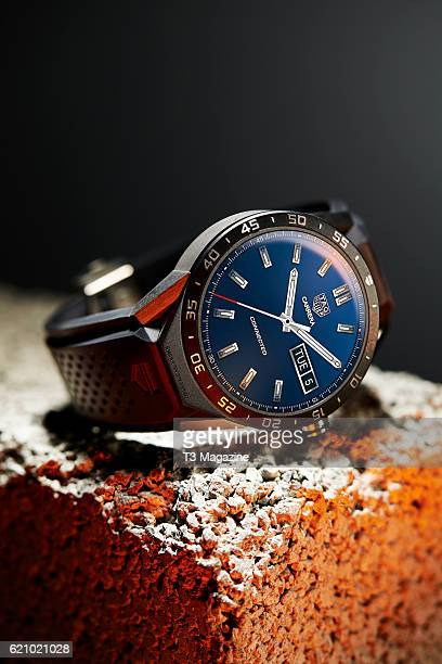 A Tag Heuer Connected smartwatch taken on February 17 2016