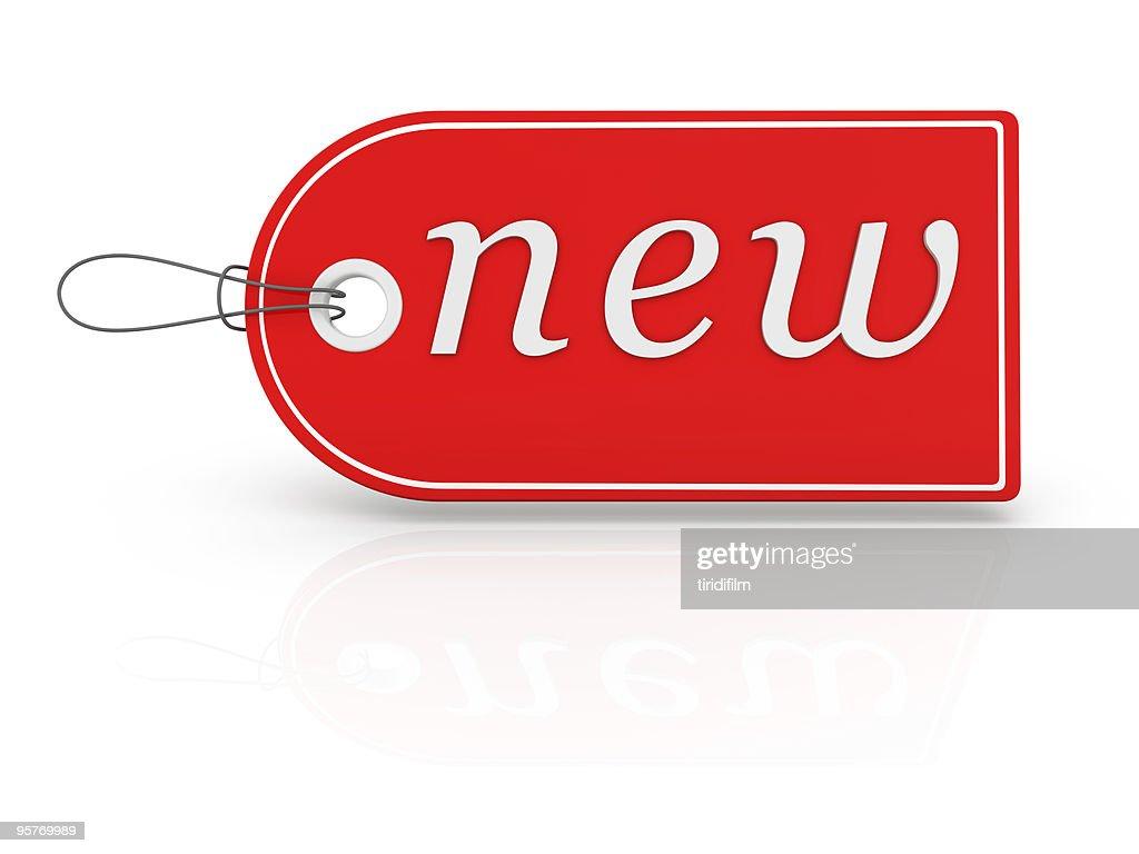 Tag - New : Stock Photo