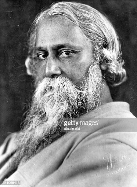 Tagore Rabindranath*18611941Author India no date photo by E Bieber Hamburg