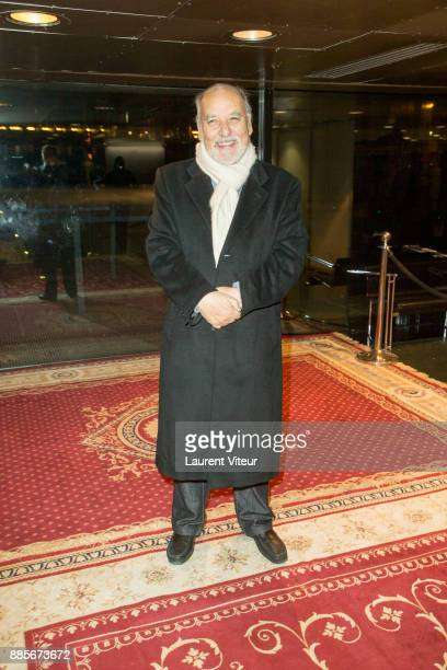 Tahar Ben Jelloun attends the 30th anniversary celebration of Institut du Monde Arabe Institut du Monde Arabe on December 4 2017 in Paris France