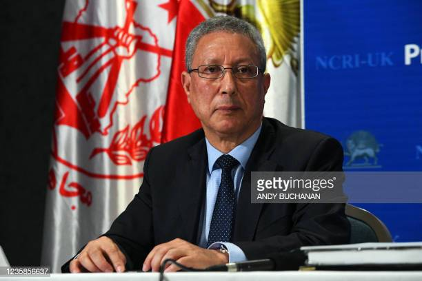 Tahar Boumedra, former UN chief for UN human rights mission to Iraq, attends a press conference organised by The UK Representative Office of the...