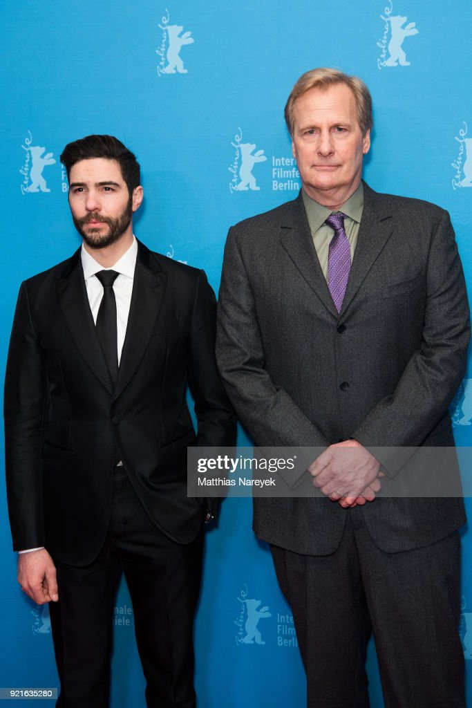 Tahar Rahim and Jeff Daniels attend the 'The Looming Tower' premiere during the 68th Berlinale International Film Festival Berlin at Zoo Palast on February 20, 2018 in Berlin, Germany.