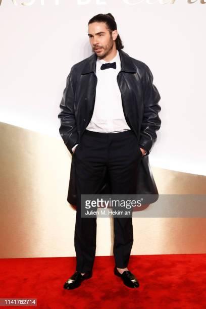Tahar Rahim attends the Clash De Cartier Launch Photocall At La Conciergerie In Paris on April 10 2019 in Paris France