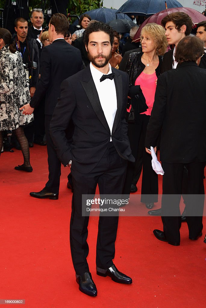 Tahar Rahim attends the Premiere of 'Grand Central' at The 66th Annual Cannes Film Festival at the Palais des Festival on May 18, 2013 in Cannes, France.