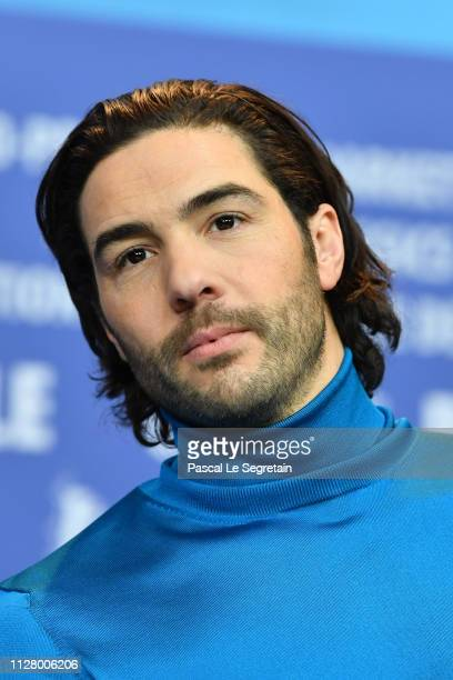 "Tahar Rahim attends the ""The Kindness Of Strangers"" press conference during the 69th Berlinale International Film Festival Berlin at Grand Hyatt..."