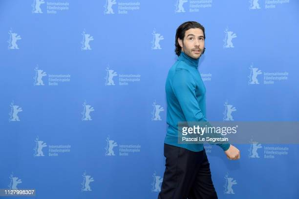 "Tahar Rahim poses at the ""The Kindness Of Strangers"" photocall during the 69th Berlinale International Film Festival Berlin at Grand Hyatt Hotel on..."