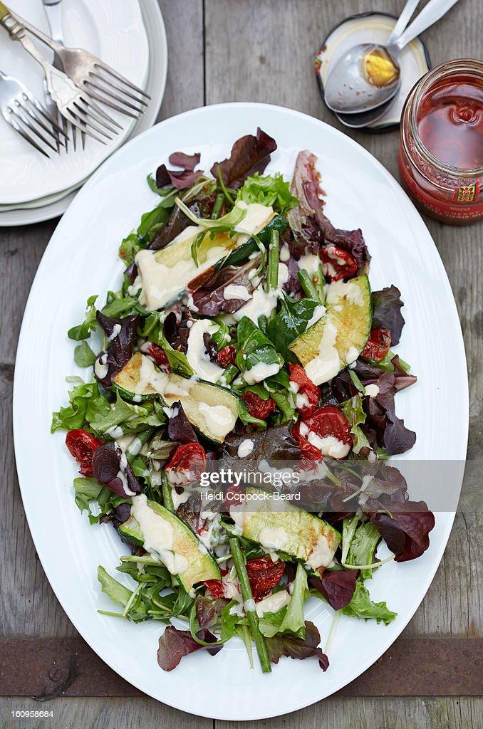 Tahini Salad : Stock Photo