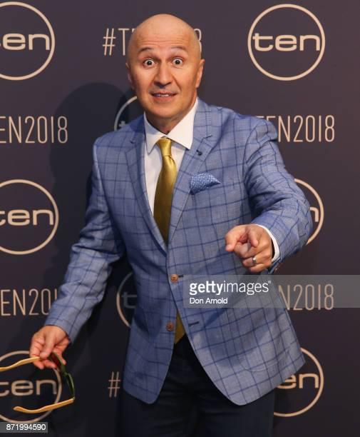 Tahir Bilgic poses during the Network Ten 2018 Upfronts on November 9, 2017 in Sydney, Australia.