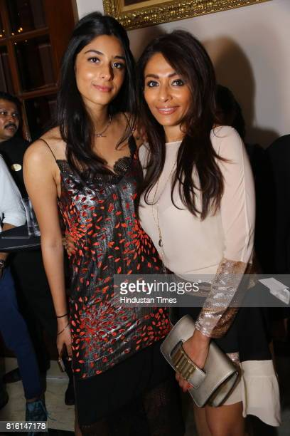 Tahira Tara Chawla and Kalyani Saha Chawla during the presentation of autumn/winter 2017 collection called 'The Regiment' by designer duo Shantanu...